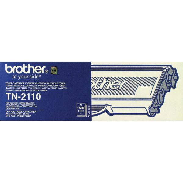 BROTHER TN2110 TONER CARTRIDGE BLACK