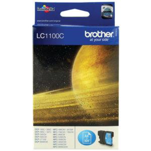 BROTHER LC1100C INKJET CARTRIDGE CYAN