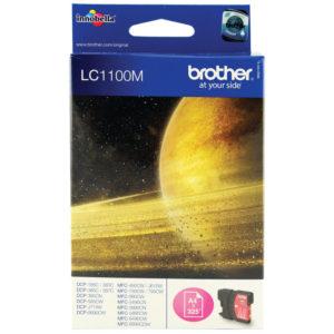 BROTHER LC1100M INKJET CARTRIDGE MAGENTA