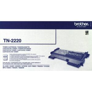BROTHER TN2220 TONER CARTRIDGE 2.6K PG