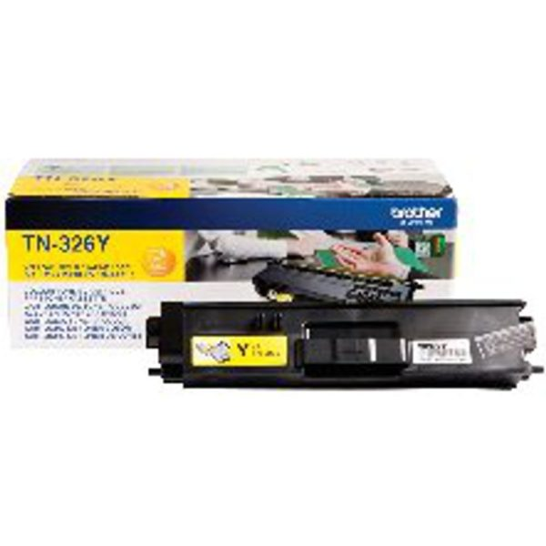 BROTHER TN326Y HY TONER CART YELLOW