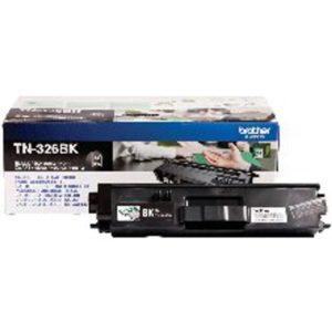 BROTHER TN326BK HY TONER CART BLACK