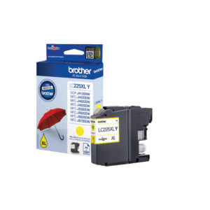 BROTHER YELLOW INK CART XL LC225XLY