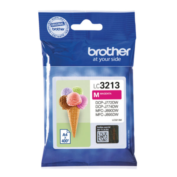 BROTHER INK CARTRIDGE HY MAGENTA LC3213M