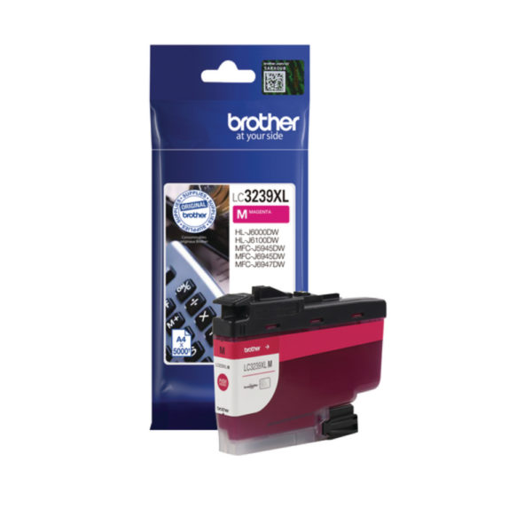 BROTHER LC3239XLM HY MAGENTA INK CART