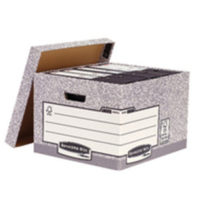 BANKERS STANDARD LARGE STORE BOX GRY