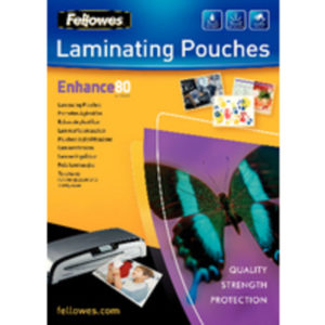 FELLOWES A4 LAMINATING POUCH 160MIC PK25