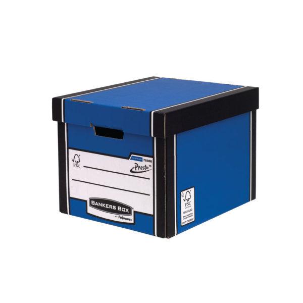 BANKRS PREM PRESTO BOX TLL BLUE