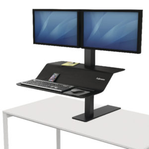 FELLOWES LOTUS VE SIT-STAND WKSTN DUAL