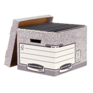 BANKERS STANDARD STORE BOX GRY