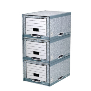 BANKERS STANDARD STORAGE DRAWER GRY