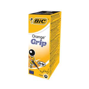 BIC ORANGE GRIP PEN BLACK 811925