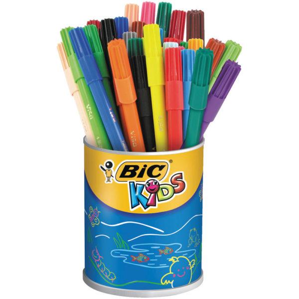 BIC KIDS VISA COLOURING FELT TIP PENS