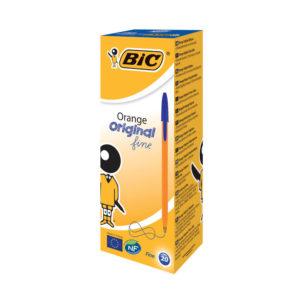 BIC ORANGE CRISTAL FINE BLUE 1199110111