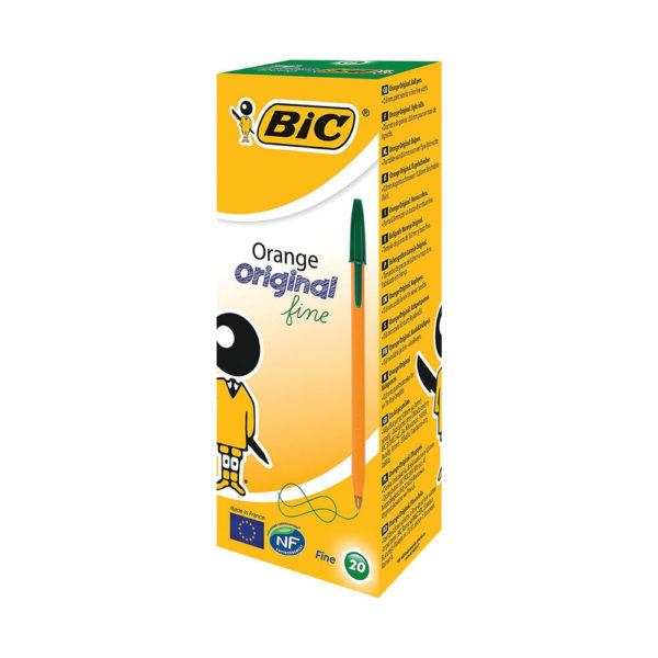BIC ORANGE CRISTAL FINE GREEN 1199110113