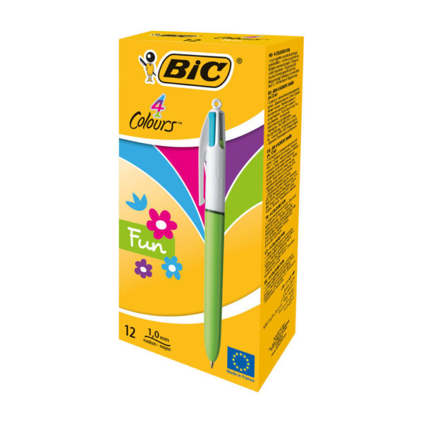 BIC 4 COLOURS FASHION ASSORTED