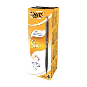 BIC ATLANTIS STIC 1.2MM BLK 837386