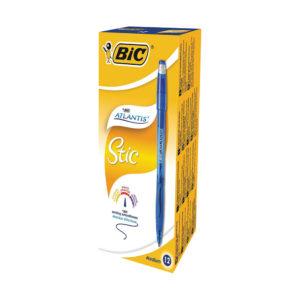 BIC ATLANTIS STIC 1.2MM BLUE 837387