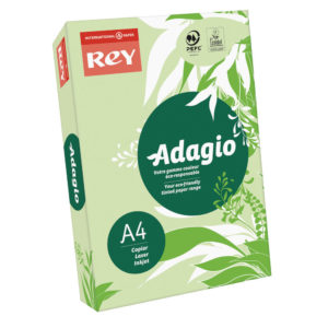 ADAGIO CARD A4 160GM BRIGHT GREEN PK250