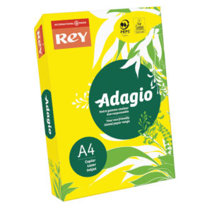 ADAGIO CARD A4 160GM YELLOW PK250