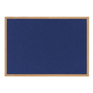 BIOFFICE EARTHIT FELT BOARD BLUE 900X600