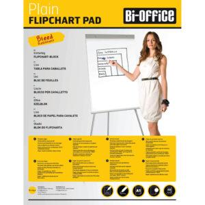BI OFFICE FLIPCHART PADS A1 PLAIN