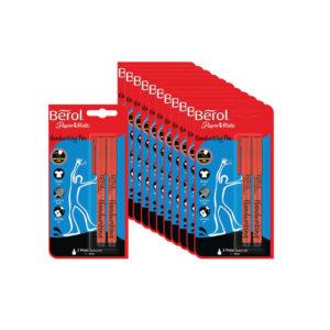 BEROL HANDWRITING PK2 BLISTER CARDED BLK