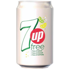 7UP DIET 330ML CANS PK24 3389