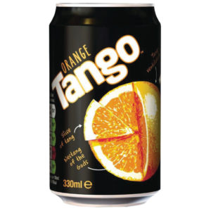 TANGO ORANGE 330ML CANS PK24 3391