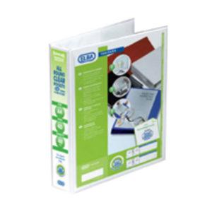 ELBA A4 40MM PRES 4D RBDR WHT 400001300