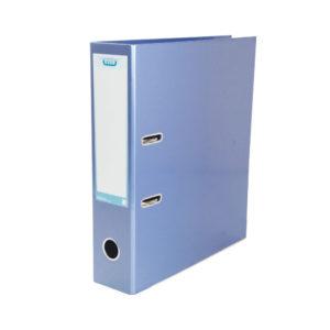 ELBA CLASSY LEVER ARCH A4 70MM MET BLUE