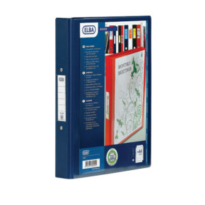 ELBA 4R BINDER PVC A4 BLUE 100080876