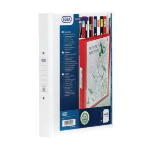 ELBA 4R BINDER PVC A4 WHT 100080879