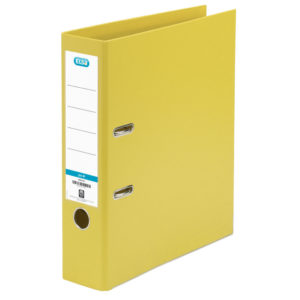 ELBA LARCH PVC A4 UP 3IN YELLOW 145006