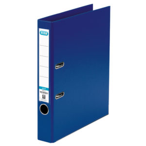 ELBA LEVER ARCH FILE PVC A4 BLUE 50MM