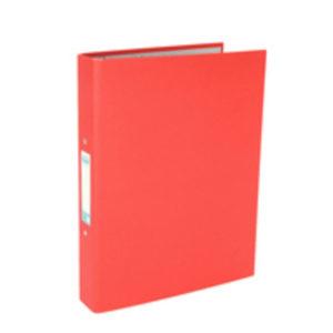 ELBA POB RING BINDER RED 400033497