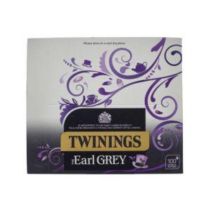 TWININGS EARL GREY TAG TEABAG P100