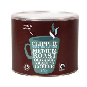 CLIPPER FAIR TRADE COFFEE 500G