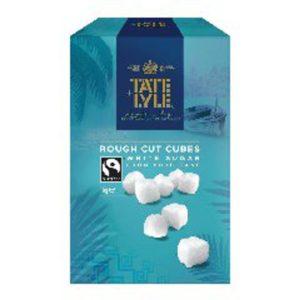 TATELYLE WHITE ROUGH CUT SUGAR CUBES
