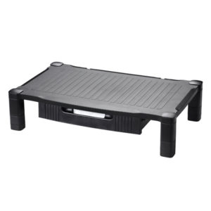CONTOUR EXTRA WIDE MONITOR STAND DRAWER