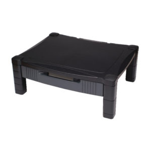 CONTOUR ADJUST MONITOR STAND WITH DRAWER