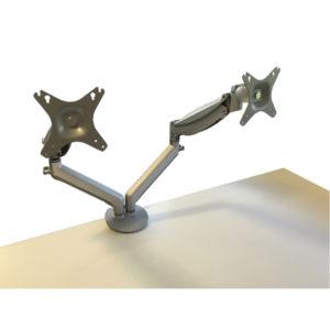CONTOUR ERG EASY MOVE DOUBLE MONITOR ARM