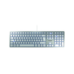 CHERRY KC 6000 WIRED KEYBOARD SILVER