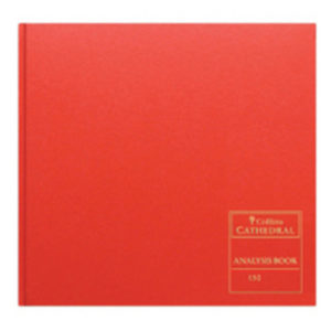 CATHEDRAL ANALYSIS BK 96P RED 150/24.1
