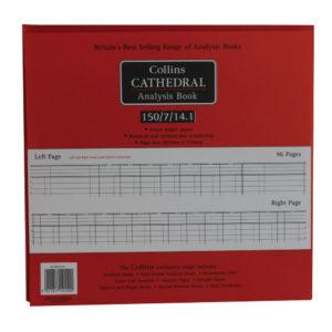 CATHEDRAL ANALYSIS BK 96P RED 150/7/14.1