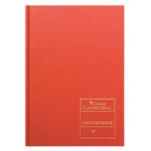 CATHEDRAL ANALYSIS BK 96P RED 69/12.1