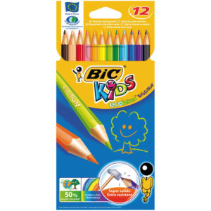 BIC KIDS COLOURING PENCILS WLT12 829029