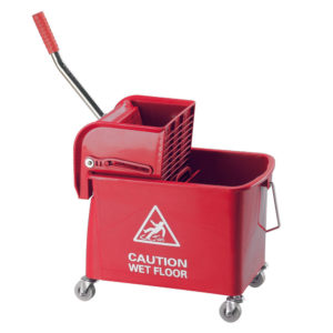 20LITRE RED SPEEDY BUCKET AND WRINGER