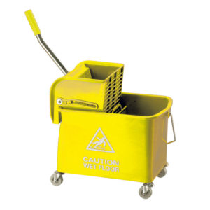 20LITRE YELLOW SPEEDY BUCKET AND WRINGER