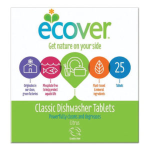 ECOVER DISHWASHER TABLETS BOX OF 25